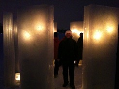 Surrounded by Ice Sculptures 2011
